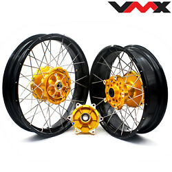 Vmx 3.019and039and039/ 4.2517 Tubeless Cush Drive Wheels Rims For Bmw F700gs 2012-2020