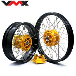 Vmx 2.1521'' /4.2517 Wheels Rims For Bmw F800gs Adventure 2008-2020 Tubeless