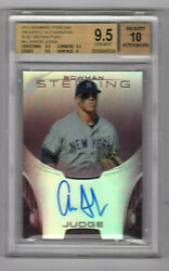 Aaron Judge 2013 Topps Bowman Sterling Prospect Autographs Ruby  82 / 99