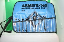 Armstrong 8 Piece Stubby Open End Angle Wrench Set Standard Sae 13/64 - 3/8
