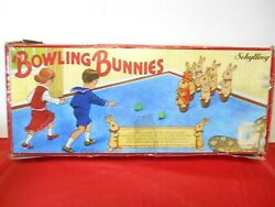 Vintage Schylling Classic Games Bowling Bunnies