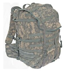 Lot Of 5 Army Acu Back Pack Molle Ii Large Rucksack Field Pack, Complete