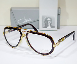 Cazal 642 col. 97624 (Brown) Large size (62 [] 17) made in GERMANY ('90s)