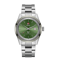 Rado Golden Horse Automatic Green Dial Men's Watch R33101314 100 Authentic
