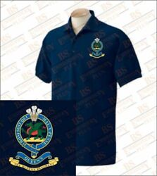 Queens Royal Hussars Embroidered Polo Shirt