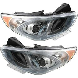 921024r050 921014r050 Hy2502177c Hy2503177c Headlight Lamp Left-and-right