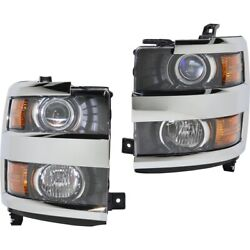 Headlight Lamp Left-and-right For Chevy Gm2502416 Gm2503416 23389970 23389971