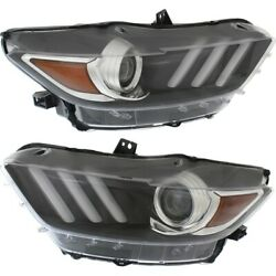 Fo2518124c, Fo2519124c Hid Headlight Lamp Left-and-right Hid/xenon Lh And Rh