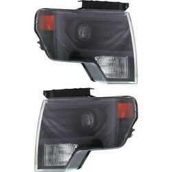 Fo2519121, Fo2518121 Hid Headlight Lamp Left-and-right For F150 Truck Hid/xenon