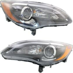 Ch2518141c, Ch2519141c Headlight Lamp Left-and-right Lh And Rh For Chrysler 200