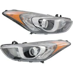 Headlight Lamp Left-and-right Hy2502173c, Hy2503173c 92101a5050, 92102a5050