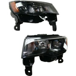 Headlight Lamp Left-and-right Ch2503284 Ch2502284 68266646ad 68266647ad