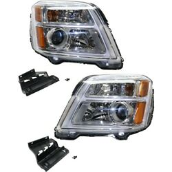 Headlight Lamp Left-and-right Gm2502435c, Gm2503435c 84064626, 84064627 Lh And Rh
