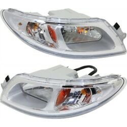 Headlight Lamp Left-and-right 4020417c91 4020416c91 Lh And Rh For 8500 Transtar