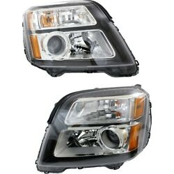 Headlight Lamp Left-and-right Lh And Rh Gm2502436, Gm2503436 23342704, 23342705