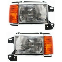 Headlight Lamp Left-and-right For Truck F150 F250 F350 Fo2503105 Fo2502105