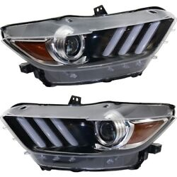 Fo2518124, Fo2519124 Hid Headlight Lamp Left-and-right Hid/xenon Lh And Rh