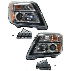 23342704, 23342705 Gm2502436c, Gm2503436c Headlight Lamp Left-and-right Lh And Rh