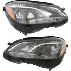 MB2502219 MB2503219 Headlight Lamp Left-and-Right for Mercedes E Class Sedan