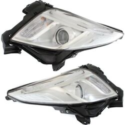 Hid Headlight Lamp Left-and-right Hid/xenon Lh And Rh For Xts Gm2502374 Gm2503374