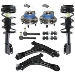 Control Arm Ball Joint Suspension Kit Set of 10 Front Left-and-Right for Chevy