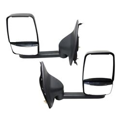 Mirror For 99-2010 Ford F-250 Super Duty Left And Right Set Of 2 Signal Light