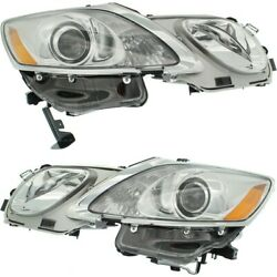 Hid Headlight Lamp Left-and-right Hid/xenon Lx2518156 Lx2519156 Lh And Rh