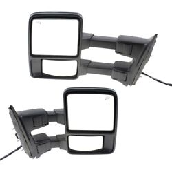 Mirror For 2008-2009 Ford F-250 Super Duty Left And Right Set Of 2
