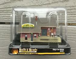Woodland Scenics 1/160 N Scale Chip's Ice House Built And Ready Series  4927 F/s
