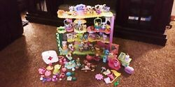 littlest pet shop round n round pet town pets and accessories