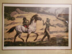 - Childs First Ride - Signed And Numbered Limited Edition Native American Scene
