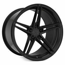 20 Rohana Rfx15 Black 20x9 20x11 Forged Concave Wheels Rims Fits Ford Mustang