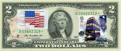 2 Dollars 2013 Star Stamp Cancel Hollywood Movies Harry Potter Value 500