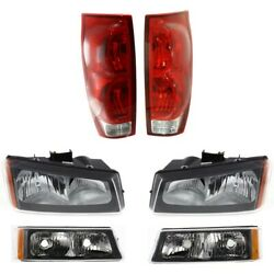 Auto Light Kit For 2003-2006 Chevrolet Avalanche 2500 Driver And Passenger Side
