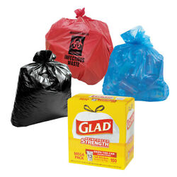 Contractorand039s Recycling Infectious Sure-sak Or Glad Trash Bags Your Pick