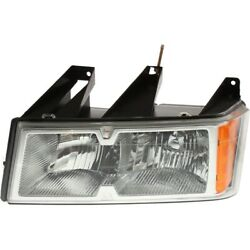 19209127 Gm2502247 Headlight Lamp Left Hand Side For Chevy Driver Lh Colorado