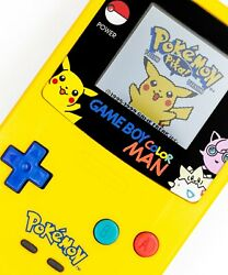Sold Out Game Boy Color Man Midwest Embedded Special Pikachu Edition Console