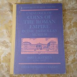 Catalogue Of Coins Of The Roman Empire In The Ashmolean Sutherland Kraay 1975