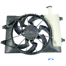 2.0 Only For 17-18 Hyundai Elantra 18 Gt Dual Radiator Ac Condenser Cooling Fan