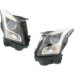 Headlight Lamp Left-and-right Coupe Gm2502384n Gm2503384n 23236365 23236366