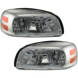25891660, 25891661 Gm2503256, Gm2502256 Headlight Lamp Left-and-right For Chevy