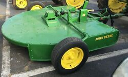 1972 Antique John Deere 407 7and039 Gyramor Rotary Brush Hog - Reconditioned