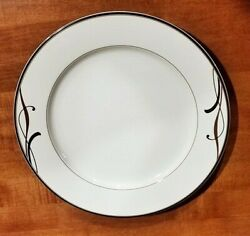 Mikasa Cocoa Blossom Chop Service Plate Platter Charger Porcelain New