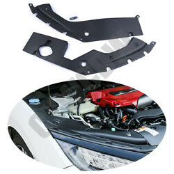 ABS Style 2pcs Leaf Plate Cover Refit Suitable For Honda Civic 10th 2016-2018