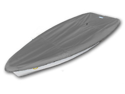 Rs Zest Sailboat Boat Deck Cover - Polyester Charcoal Gray Top Cover - Usa Made