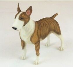 Bull Terrier Dog Collectible Figurine Miniature 5.5quot;L New in box