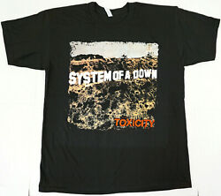 System Of A Down Toxicity T-shirt Heavy Metal Menand039s 100 Cotton Tee New