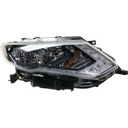 Headlight Lamp Right Hand Side Passenger Rh For Rogue 17-18 Ni2503254 260106fl0a