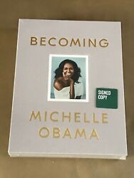 Becoming By Michelle Obama Signed Deluxe Boxed Edition Still In Shrink Wrap
