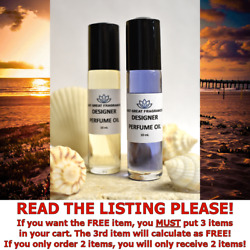 Womens Designer Fragrance Perfume Oil Types You Pick Size / Scent Pure And Uncut